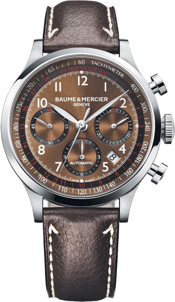 Обзор часов Baume & Mercier Capeland