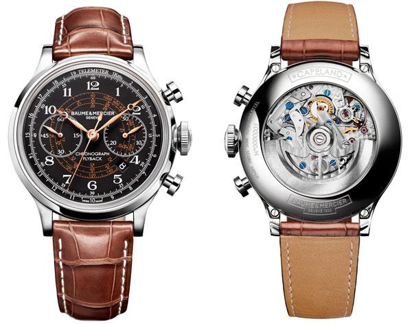 Винтажные часы Baume & Mercier Capeland