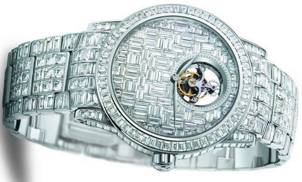 Часы Blancpain Tourbillion Diamants ($1.812.700)