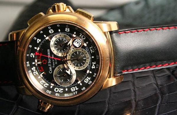 Обзор часов Сильвестра Сталлоне Carl F. Bucherer Patravi TravelTec GMT