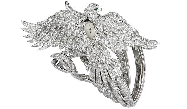 Часы Cartier Secret с декором в виде Феникса ($2.755.000)