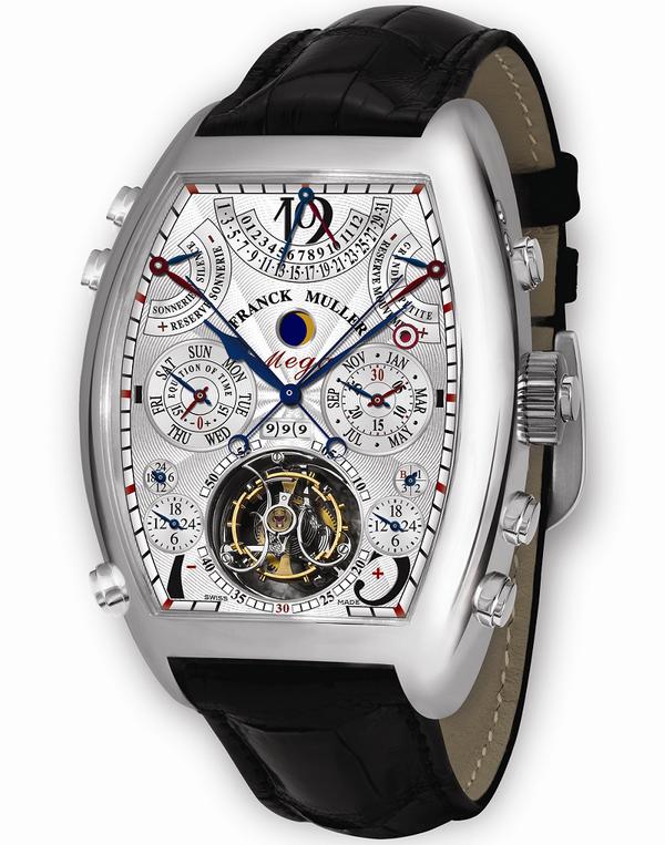 Часы Franck Muller Aeternitas Mega 4 ($2,700,000)