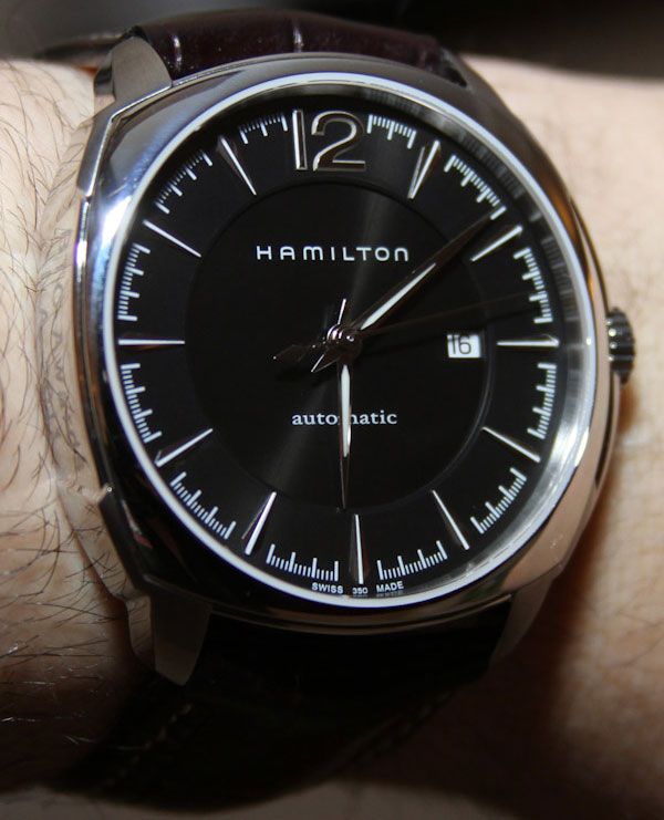 Часы Hamilton Jazzmaster Cushion