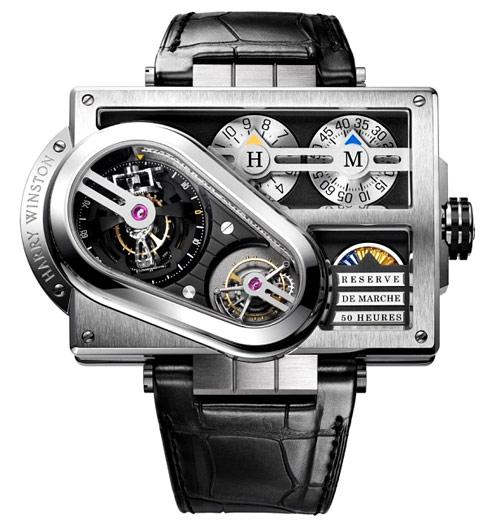 Часы Harry Winston Histoire de Tourbillon No.3