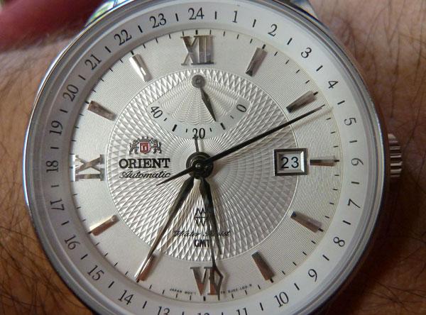 Бренд Orient DJ02003W GMT
