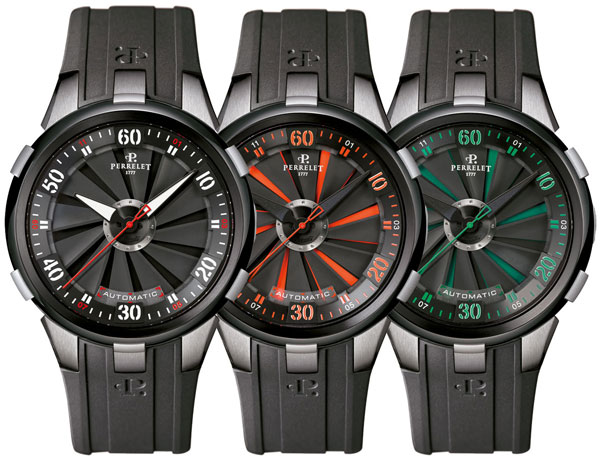 Overview of Perrelet Turbine XL watches