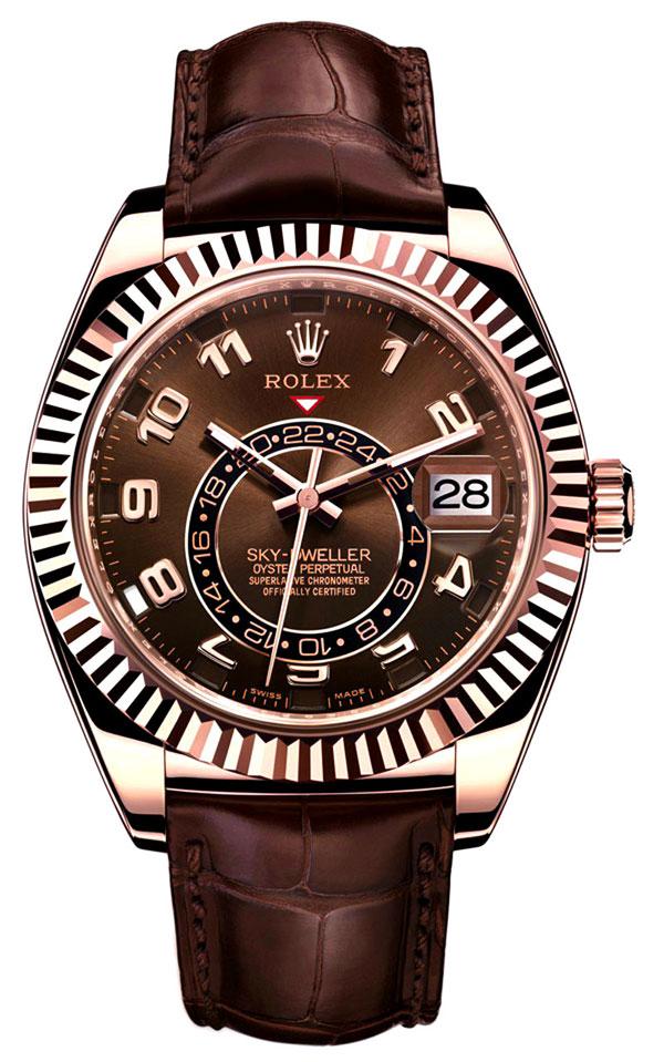 Часы Rolex Sky-Dweller из розового золота