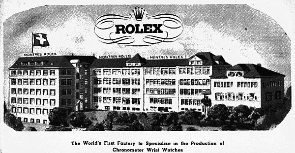 История швейцарских часов Rolex