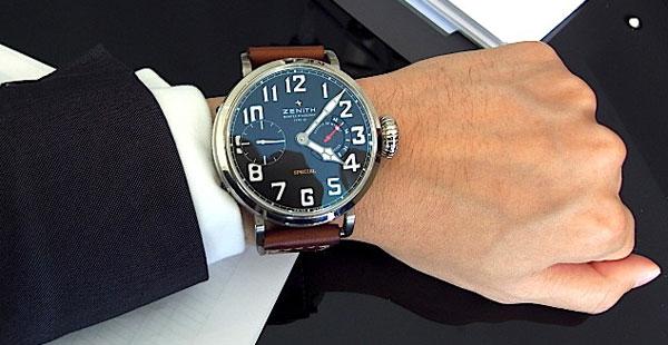 Обзор винтажных часов Zenith Pilot Montre Type 20