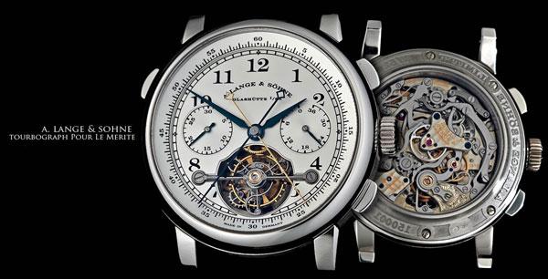 """Обзор часов A. Lange & Sohne Toubrograph """"Pour le Merite"""", часы у путина, часы путина цена"""