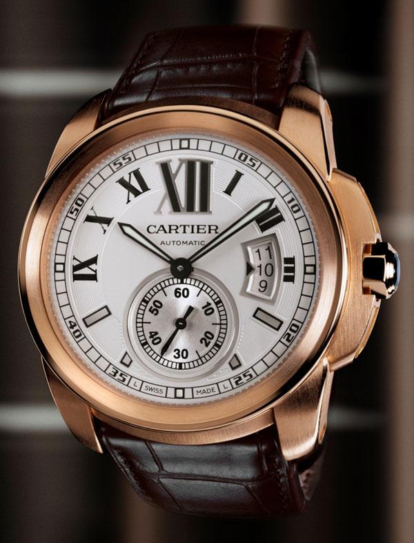 Обзор часов Cartier Calibre