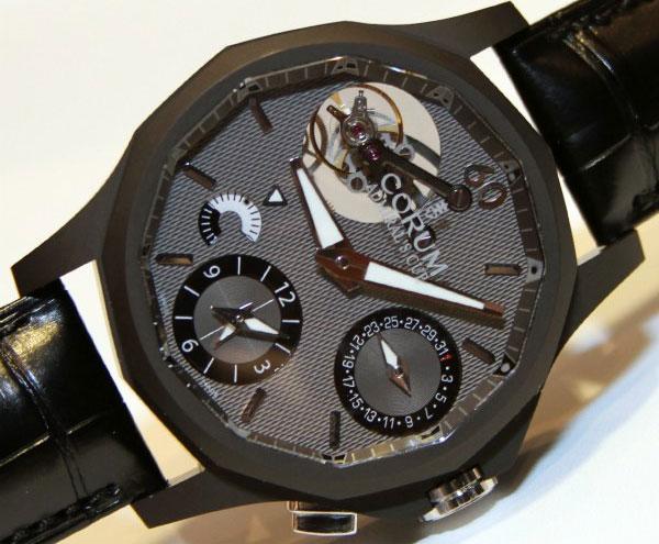 Часы Corum Admiral's Cup Seafender 47 Tourbillon GMT