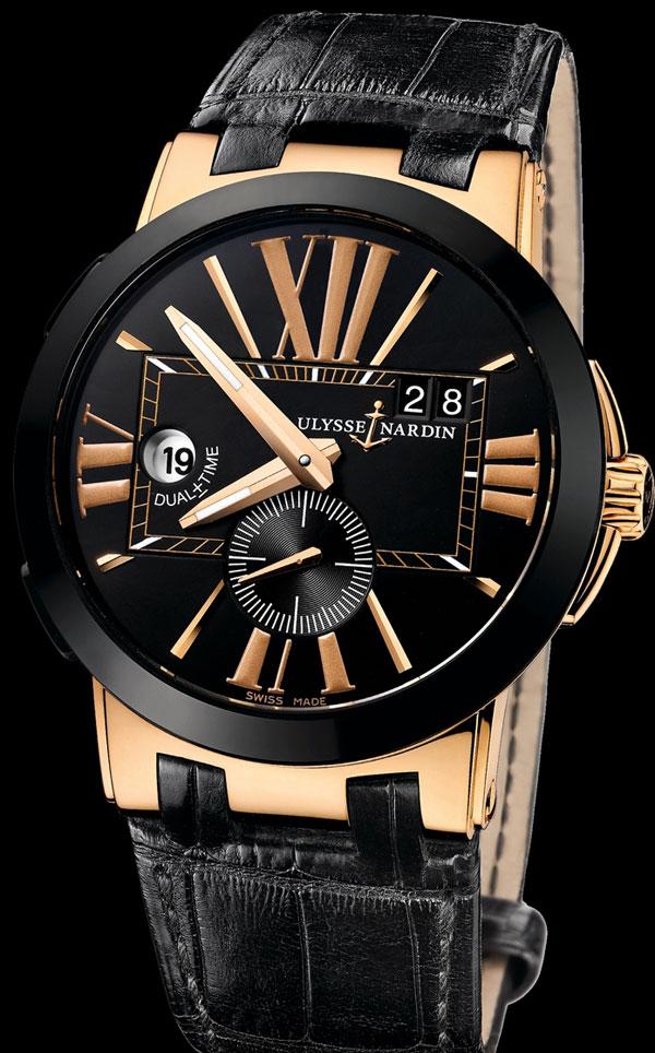 Обзор часов Ulysse Nardin Executive Dual Time