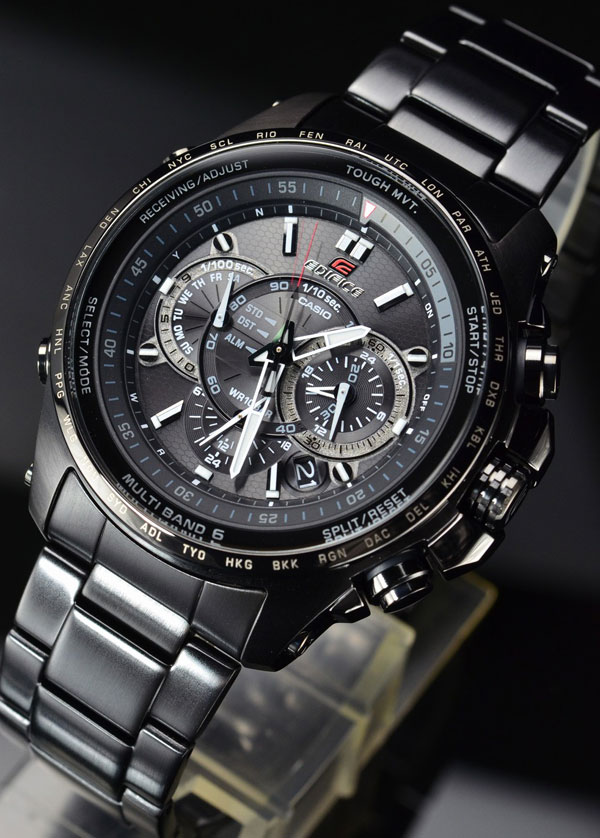 Обзор часов Casio Edifice EQWT720DC-1A