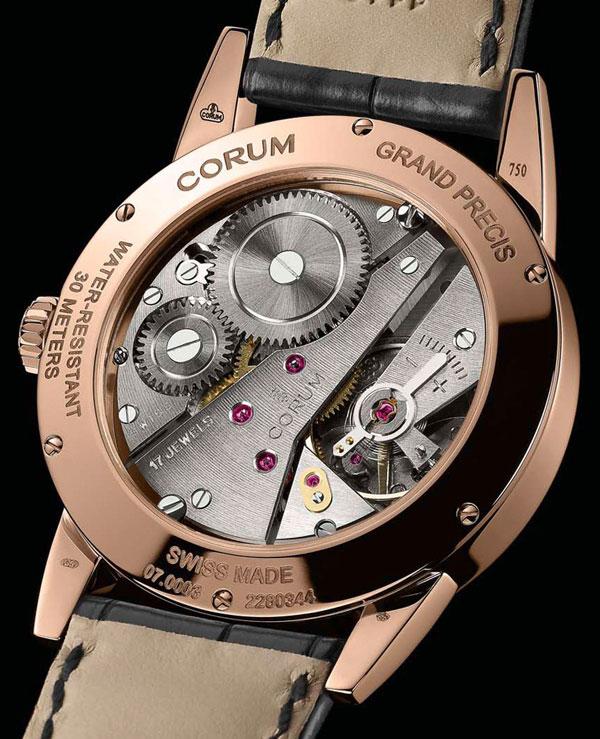 Обзор винтажных часов Corum Grand Precis