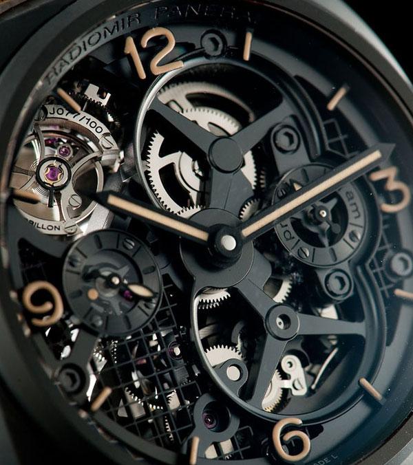 Часы Panerai Radiomir Tourbillon GMT Ceramica PAM348