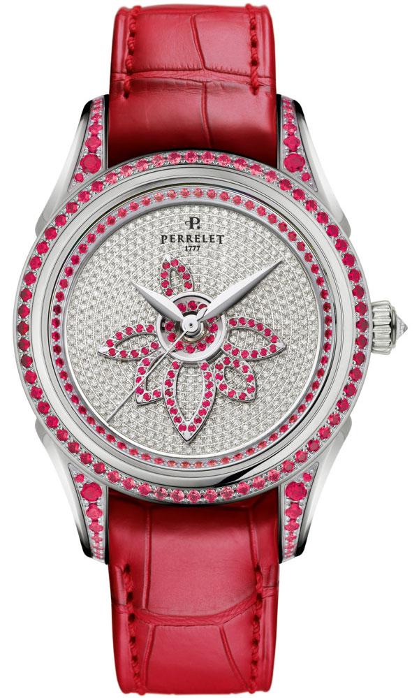 Обзор часов Perrelet Diamond Flower Double Rotor