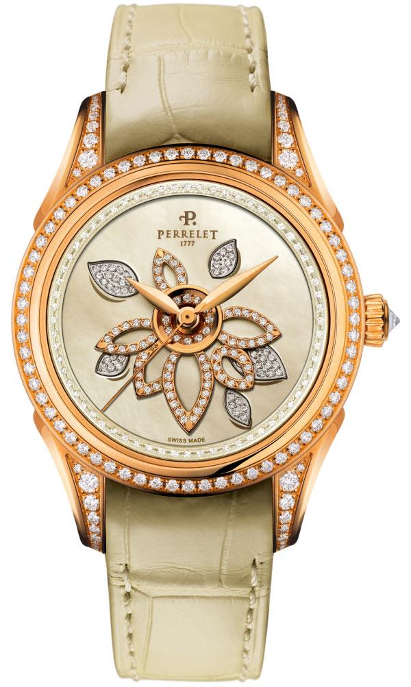 Брендовые часы Perrelet Diamond Flower Double Rotor