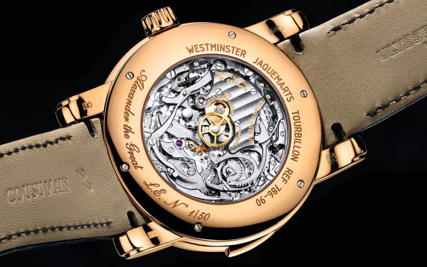 Обзор часов Ulysse Nardin Alexander The Great Minute Repeater Westminster Tourbillon Carillon Jaquemarts