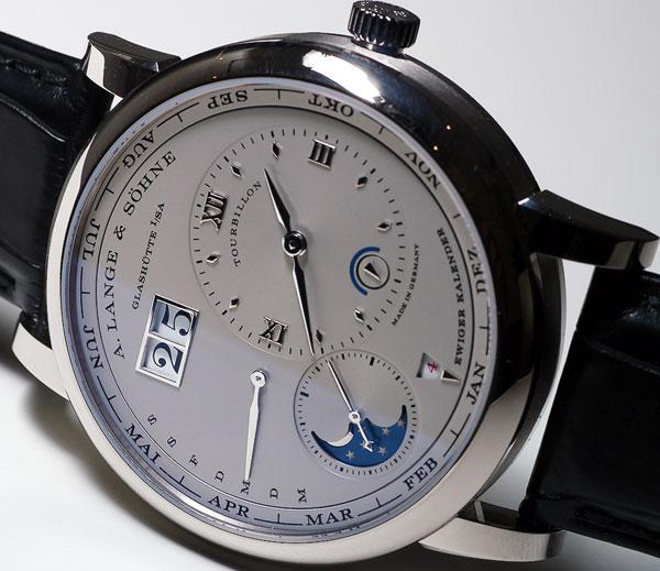 Обзор брендовых часов A. Lange & Sohne Lange 1 Tourbillon Perpetual Calendar