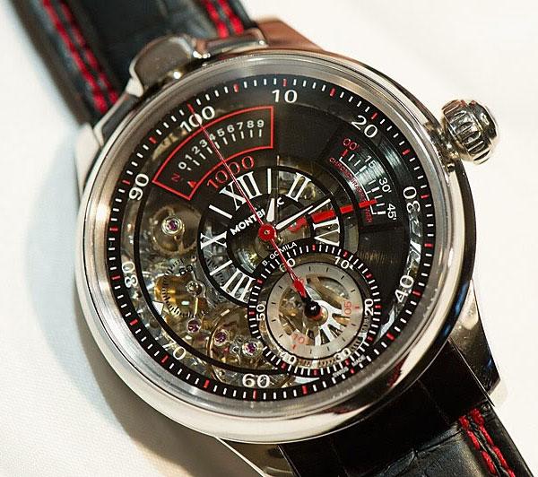 Часы Montblanc Timewriter II Chronographe Bi-Frequence 1000
