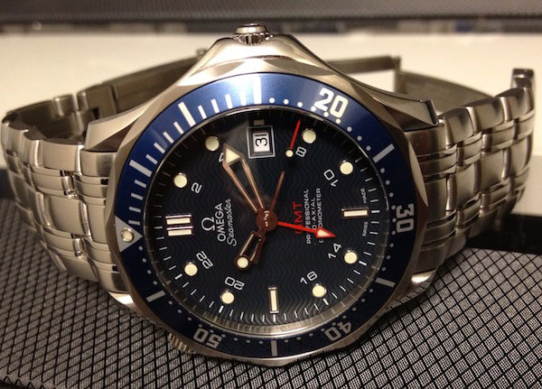 Обзор часов Omega Seamaster 300M GMT «James Bond»