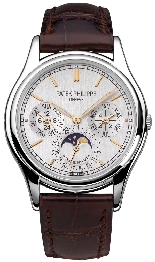 Обзор часов Patek Philippe Advanced Research Ref. 5550P