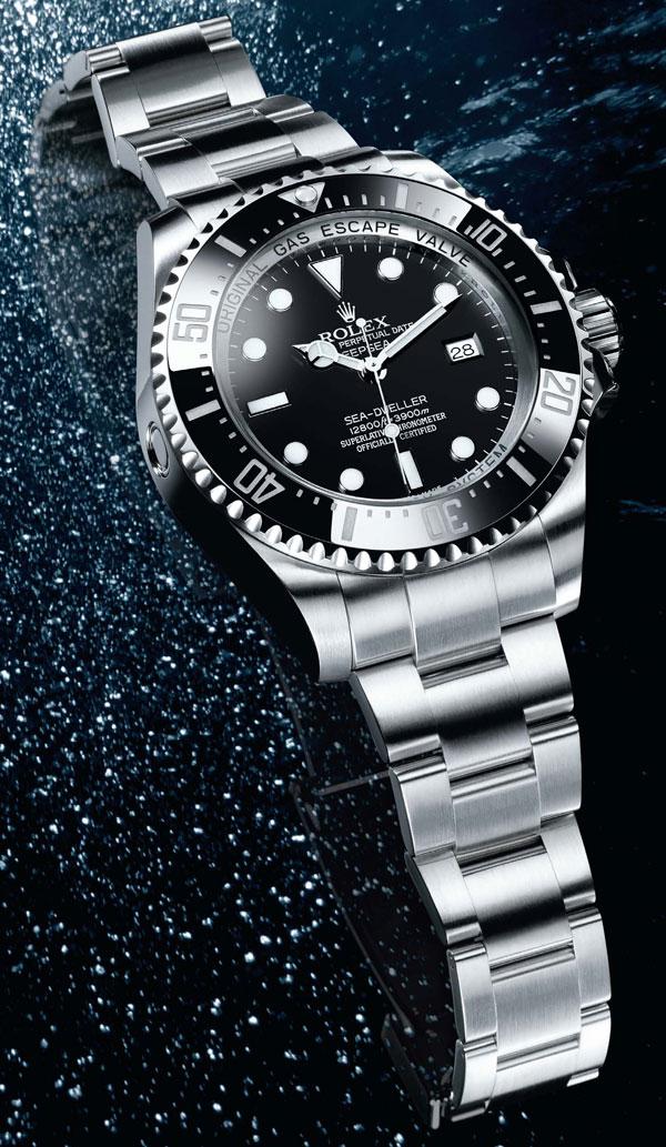 Обзор швейцарских часов Rolex Deepsea Challenge