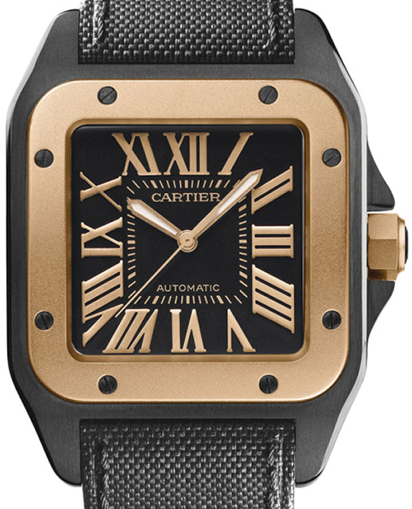Обзор часов Cartier Santos 100 W2020009