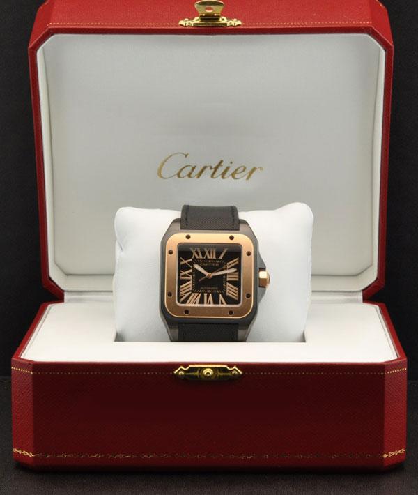Швейцарские часы Cartier Santos 100 W2020009