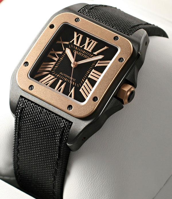 Брендовые часы Cartier Santos 100 W2020009