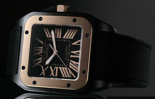Часы лучшего бренда Cartier Santos 100 W2020009