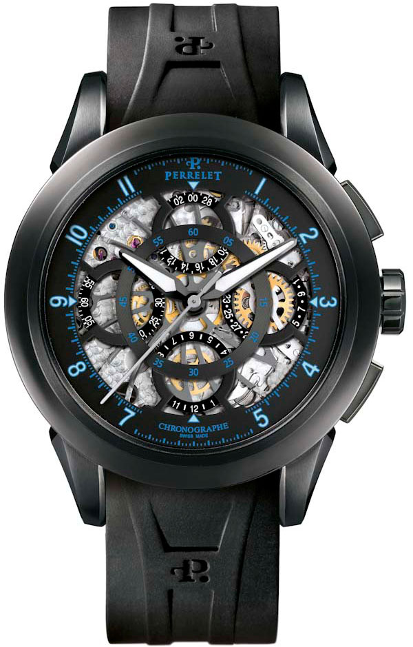 Обзор часов Perrelet Skeleton Chronograph