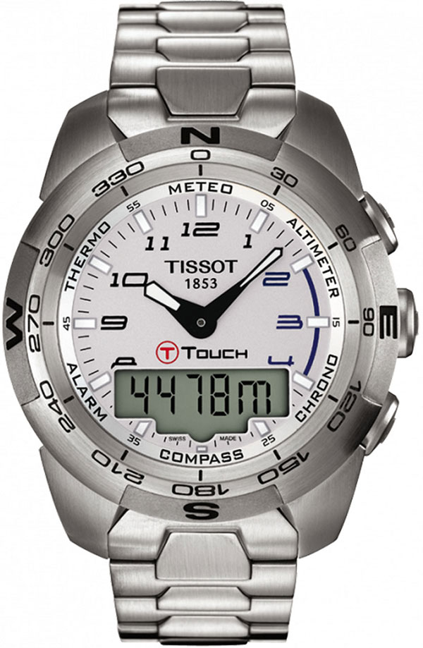 Обзор часов Tissot T-Touch Expert Stainless Steel T013.420.11.032.00