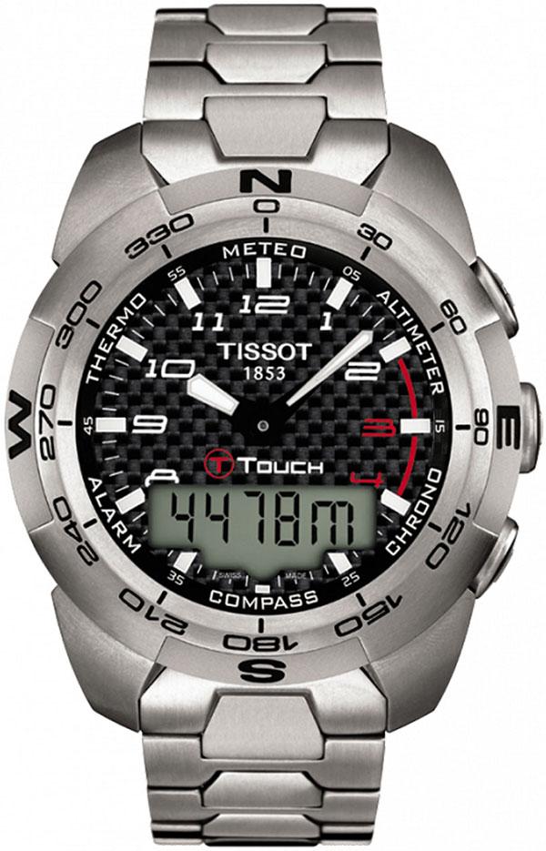 Обзор часов Tissot T-Touch Expert Titanium T013.420.44.202.00