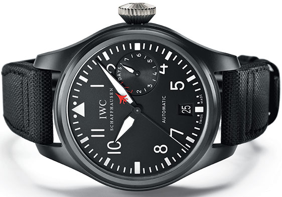 Обзор часов IWC Big Pilot Top Gun