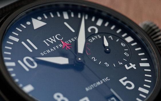 iwc top gun, оригинальные часы iwc, часы top gun