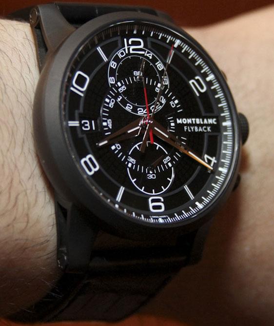 часы montblanc, montblanc chronograph