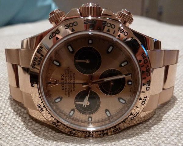 Обзор часов Rolex Daytona 2011