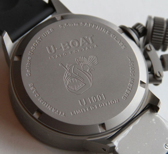 Обзор часов U-Boat U 1001 ограниченный тираж
