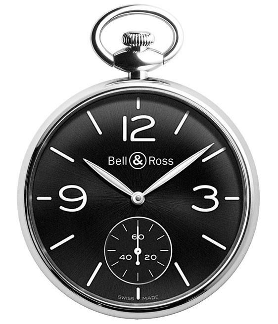 Bell & Ross Vintage BR PW1 (карманные часы на цепочке)