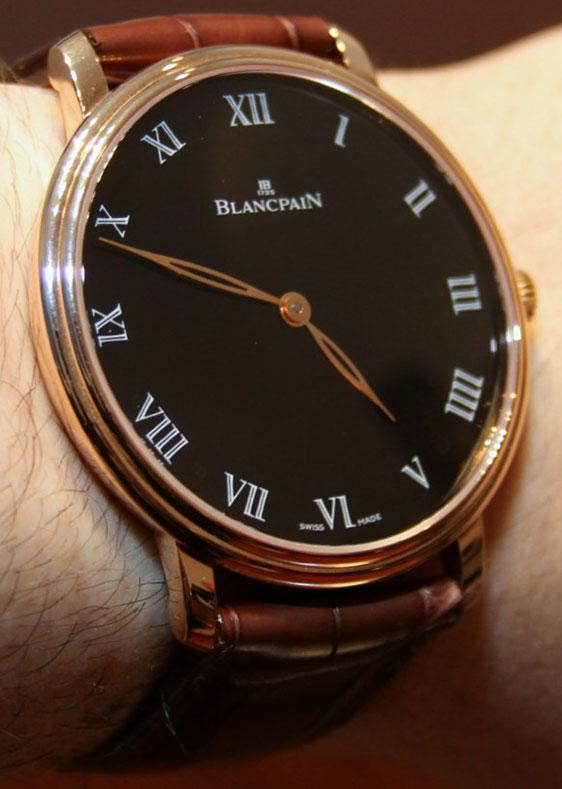 часы blancpain, швейцарские часы blancpain, blancpain villeret