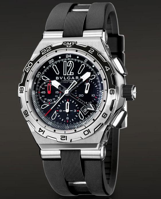 Обзор часов Bvlgari Diagono X-Pro Chrono GMT, bvlgari каталог