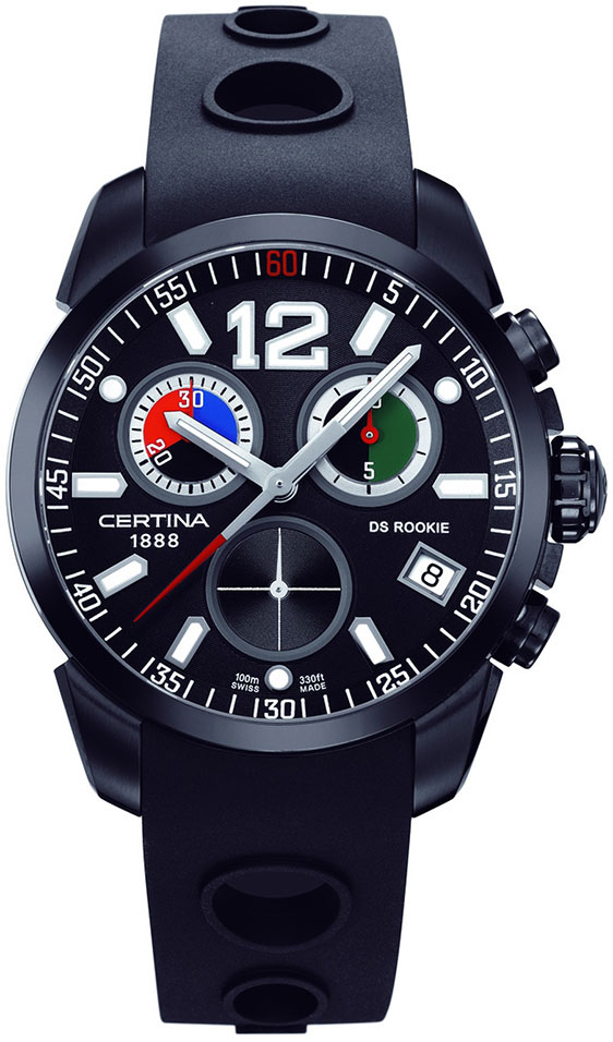 Обзор часов Certina DS Rookie Chrono