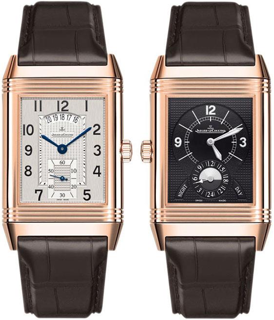 Обзор золотых  часов Jaeger-LeCoultre Grande Reverso Duoface