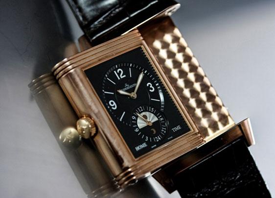 Цена золотых часов Jaeger-LeCoultre Grande Reverso Duoface