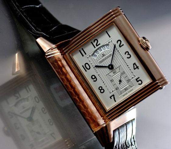 Золотые часы Jaeger-LeCoultre Grande Reverso Duoface