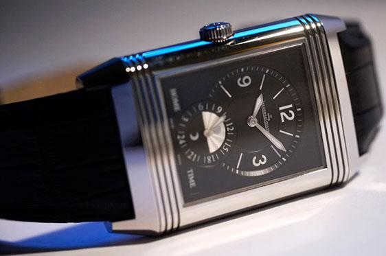 цена стальных часов Jaeger-LeCoultre Grande Reverso Duoface