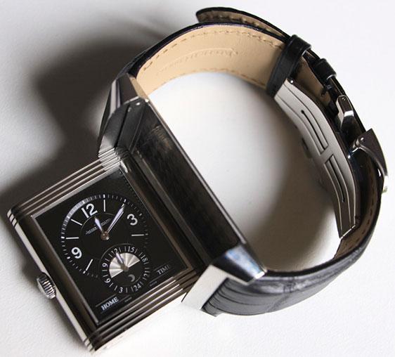 Обзор стальных наручных часов Jaeger-LeCoultre Grande Reverso Duoface