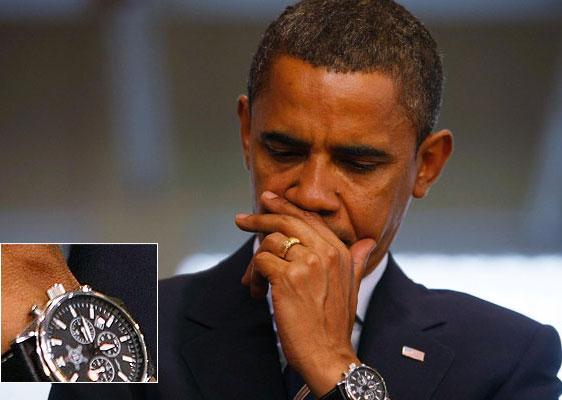 Обзор часов президента США Барака Обамы Jorg Gray JG 6500